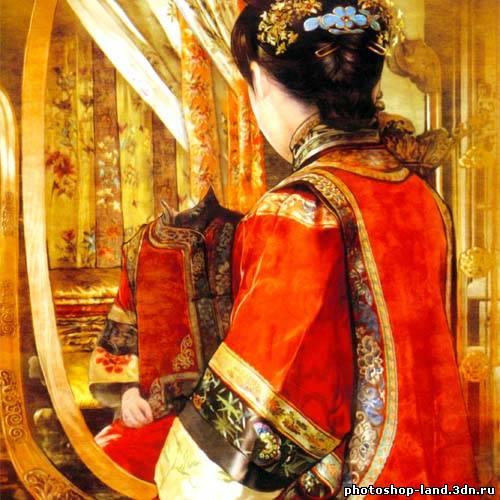 Смотреть онлайн с китаянкой стоя в одежде 12 фотография
